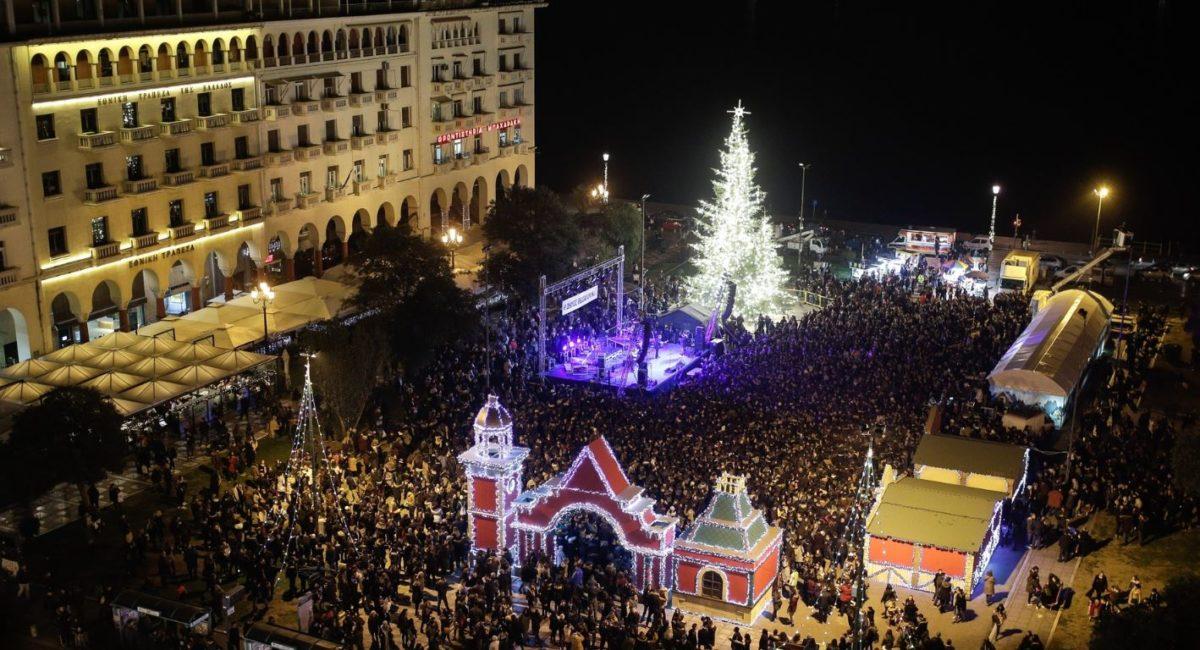 Χριστούγεννα 2017: Οι καλύτεροι στολισμοί της Θεσσαλονίκη