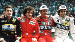 F1 1000GP (μέρος δεύτερο): Οδηγοί- Θρύλοι