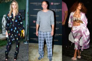 Διάσημοι που τόλμησαν να βγουν με τις πιτζάμες τους