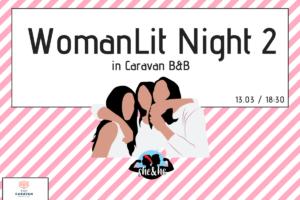 WomanLit Night μία εκδήλωση που δεν πρέπει να χάσετε!